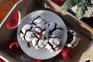 Chocolate crinkles – Norisori