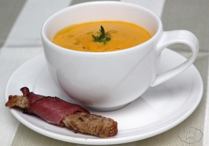 Supa crema de morcovi copti