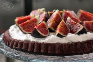 Tarta cu crema de mascarpone si smochine