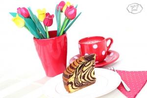 Zebra cake -  prajitura/chec zebra